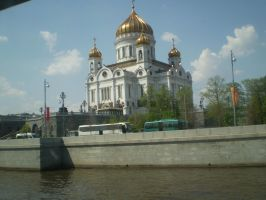 The Cathedral of Christ the Savior by Dunglap