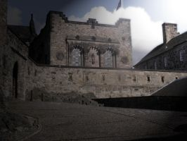 Castle court yard stock 2 by Jrennie1984-stock