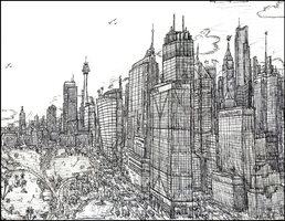 Metropolis Version Two by pag293