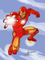 Iron Man by jamesq
