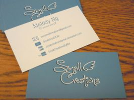 Business Cards by SmallCreationsByMel