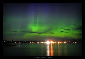 Auroras over Bruce Mines by tfavretto