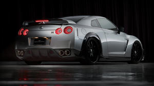 Nissan GTR full HD by JSGidda