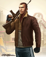 NIKO BELLIC by amirulhafiz