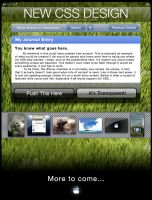 iPhone CSS Concept by D-Garcia