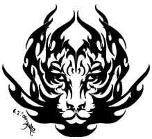 Tiger Tribal by Yako