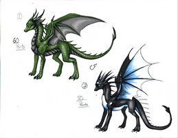 Dragon Adopts! CLOSED by ElementalShifter
