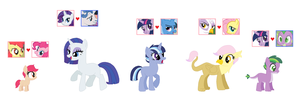 Disliked MLP Ship Adopts (CLOSED) by srbarker