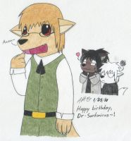Birthday Gift for Sardo by kokorogensou