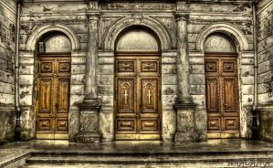 church door by pszczolabzzz