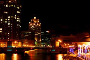 Milwaukee, Wisconsin by trespigs