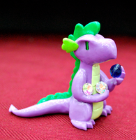 Spike Figurine by HowManyDragons