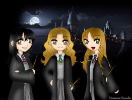 Hogwarts Girls by MariRainha