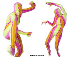 Bright Funny Zentai by AgnaDevi