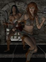 Barbarians at the Gate by Trish2
