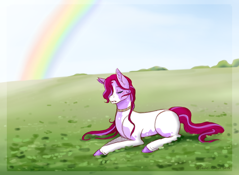 [UP] Dozing in the Clover Fields by Pastel-Circus