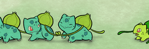Bulbasaur Brothers by Furrama