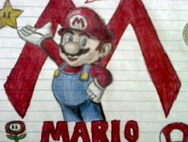 Super Mario. by Creativeartisit