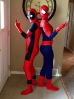 Spideypool Cosplay by Adoptables11