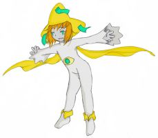 PokePeople5: Wishmaker Jirachi by Karaiel