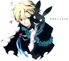 Pandora Hearts Oz render by Xaelle39