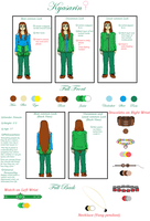 Kyasarin Reference Sheet 2014 by TheDragonInTheCenter