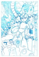 Megaman Variant by ChadAT