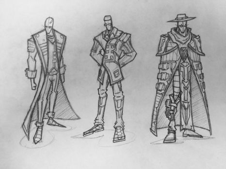 Clothes Concept Art by MechDennis
