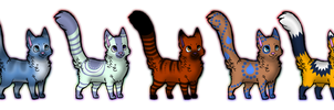 Cheap Cat Adoptables! by DailyAdoptables