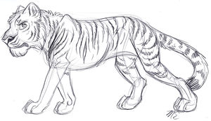 DAC 7-23-11 Bengal Tiger by therougecat