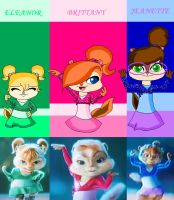 Single Chipettes by strawhatcrew96