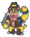 Cowboy Bowser by Pizza-and-Fandoms