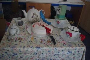 Alice In Wonderland Teaset by LucyLostInWonderland