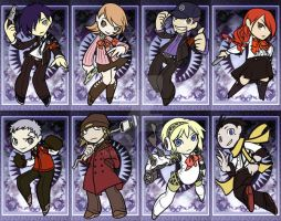 P3 - Convention Tags by thekeet