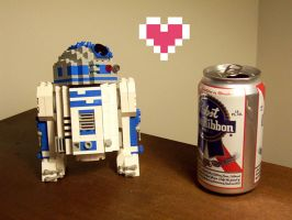 R2LegoLove by gloriouskyle