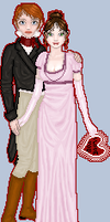 Regency Couple by ginifur