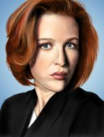 Dana Scully by pocketmouse80