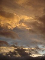 Sunset Clouds17 by Comacold-stock