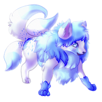 {Commission} - GlowFoxx by LeoKatana