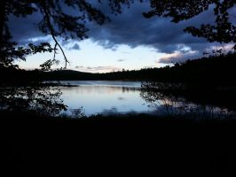 Chocorua Campgrounds Dawn by TDProductionStudios