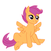 Scoot-Scootaloo~ by Fungicaprafelipodae