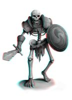 Skeleton Warrior 3-D conversion by MVRamsey