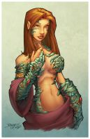 Witchblade by GarryHenderson