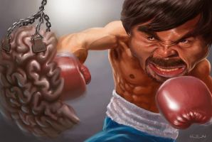 Manny Pacquiao by krenx