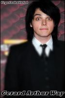 Gerard Way 4 by VegetaXBullaFan