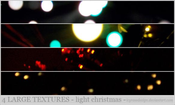 LargeTextures_LightChristmas by icyrosedesign