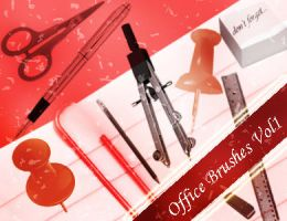 Office Photoshop Brushes Vol.1 by emmaalvarez