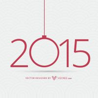 Happy New Year Card Free Vector by vecree