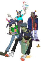 Gorillaz: Murdoc B-day by Admantius