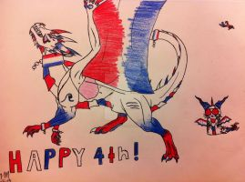 Happy 4th! by queenfirelily17